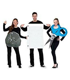Rock, Paper, Scissor Costume