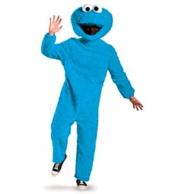 Sesame Street® Cookie Monster Plush Adult Costume