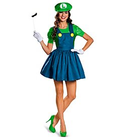 Nintendo® Super Mario Bros® Luigi Costume with Skirt