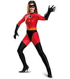 Disney® Pixar The Incredibles: Mrs. Incredible Adult Bodysuit Costume