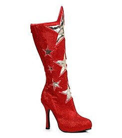 Superhero Star Women's Red Boots