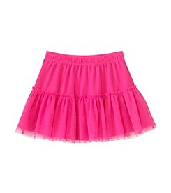Little Miss Attitude Girls' 2T-6X Solid Tulle Skirt