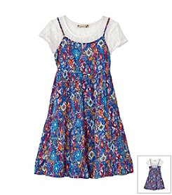 Speechless® Girls' 7-16 Lace Shirt Dress