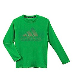 adidas® Boys' 8-20 Long Sleeve Radiate Tee