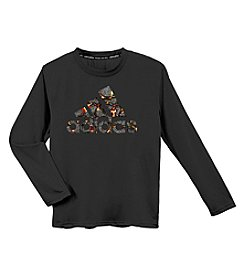 adidas® Boys' 8-20 Long Sleeve Magma Tee