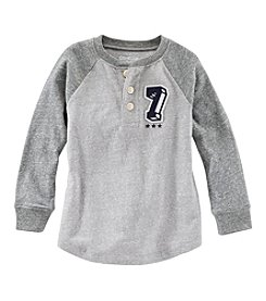 OshKosh B'Gosh Boys' 2T-4T Long Sleeve Henley Top