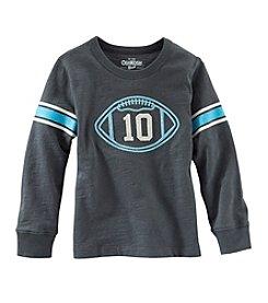 OshKosh B'Gosh® Boys' 2T-7 Long Sleeve Football Tee