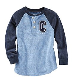 OshKosh B'Gosh® Boys' 2T-4T Long Sleeve Henley Top