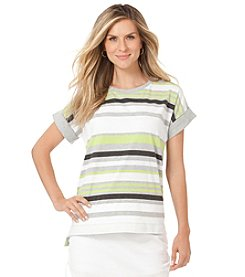 Chaps® Soccer Stripe Tee