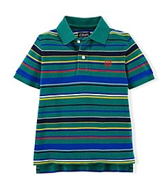 Chaps® Boys' 4-7 Short Sleeve Striped Polo Top