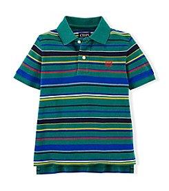 Chaps® Boys' 4-7 Short Sleeve Striped Polo Top