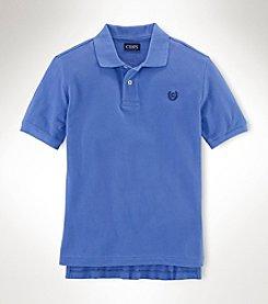 Chaps® Boys' 4-7 Short Sleeve Basic Polo