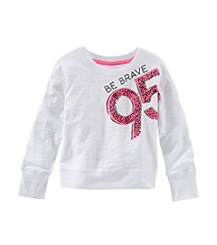 OshKosh B'Gosh® Girls' 4-6X Be Brave Popover Top