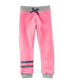 OshKosh B'Gosh® Girls' 4-6X French Terry Crop Pants