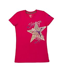 PUMA® Girls' 4-6X Shining Star Tee