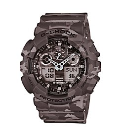 G-Shock Men's Gray Full Camo Watch