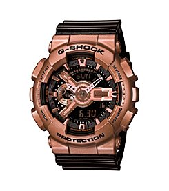 G-Shock Men's Black And Rose Goldtone Watch