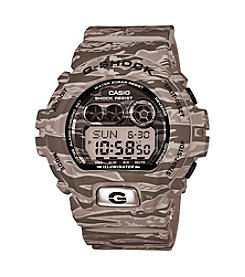 G-Shock Men's Gray Plated Camo Watch
