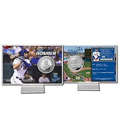 Kansas City Royals Eric Hosmer Silver Coin Card Display by Highland Mint