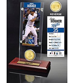 MLB® Kansas City Royals Eric Hosmer Ticket and Bronze Coin Desktop Acrylic