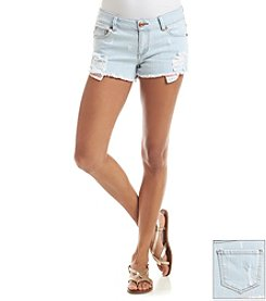 Celebrity Pink Flag Pocket Shorts