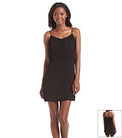 BCBGeneration™ Pleated Popover Dress