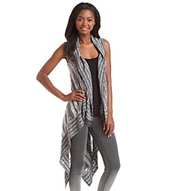 Hippie Laundry Long Striped Cardigan