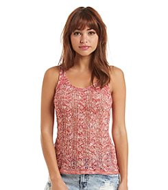 Hippie Laundry Knit Sweater Tank Top
