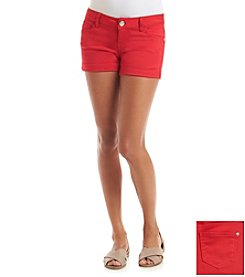 Celebrity Pink Stretch Sateen Shorts