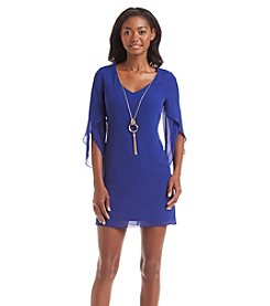 A. Byer Necklace Shift Dress