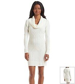 A. Byer Turtle Neck Sweater Dress
