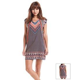 Be Bop Drop Shoulder Shift Dress