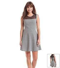 Be Bop Zigzag Skater Dress