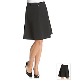 Nine West® A-Line Belt Skirt