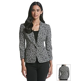 Nine West® Sketch Print Jacket