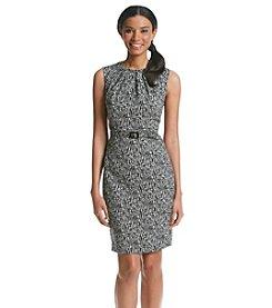 Nine West® Sketch Print Dress