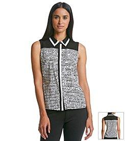 Calvin Klein Stripe Blouse