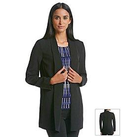 Calvin Klein Soft Crepe Jacket