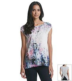 DKNY JEANS® Floral Print Tank
