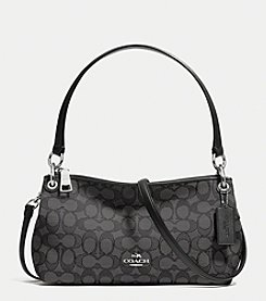 COACH CHARLEY CROSSBODY IN SIGNATURE CANVAS
