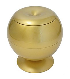 iTouchless Touchless Apple 360 Decorative Accent Piece with Hidden Storage Container