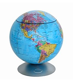 iTouchless Touchless Activated 360° Globe with Hidden Storage Container