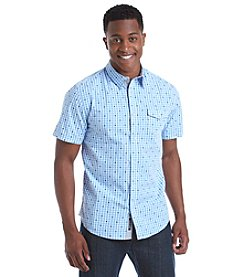 DKNY JEANS® Men's Short Sleeve Check Button Down Shirt