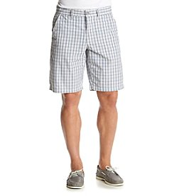 DKNY JEANS® Men's Check Trouser Shorts