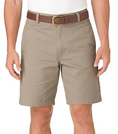 Chaps® Men's Big & Tall Basic Twill Flat Front Shorts