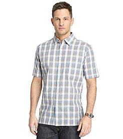 Van Heusen® Men's Short Sleeve Large Check Button Down