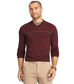 Van Heusen® Men's Long Sleeve V-Neck Tee