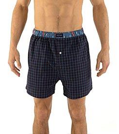 Tommy Hilfiger® Men's Grid Woven Boxers