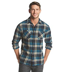 Ruff Hewn Men's Long Sleeve Plaid Flannel Shirt