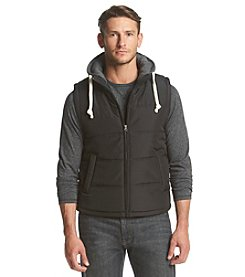 Ruff Hewn Men's Hooded Puffer Vest